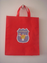 foldable red shopping bag cheapest bags pp woven promotional/gift bags