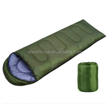 Cold weather double layer single person sleeping bag