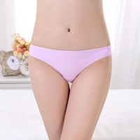 Teen Underwear Transparent Low Waist Young Girl Underwear Models Sheer Sexy Lace Lady Underwear Seamless Panty
