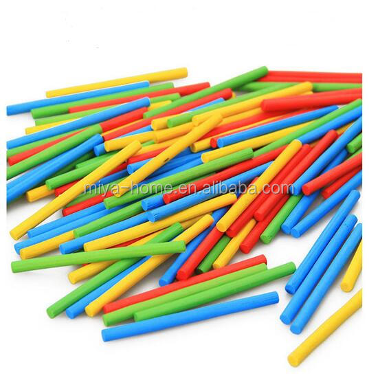New Arrival Bar Counting Rod / Math Arithmetic Early Teaching Aids Counting Sticks Toy / Multi-Colored Wooden Child Gift