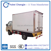 Good condition NEW mini freezer box truck for fresh vegetables