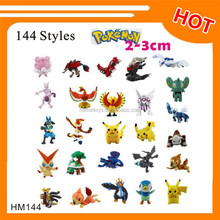 2-3cm hot sale mini toy Pokemon figure 144