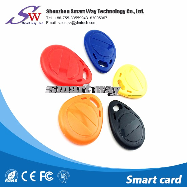 read/write ic smart card t5577 rfid key fob