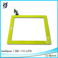 wholesale for iPad 2 touch screen Assembly +Frame with glue+Home Button digitizer Assembly