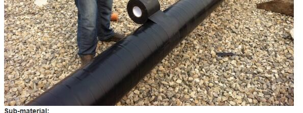 pvc anti corrosive pipeline wrapping tape made in china