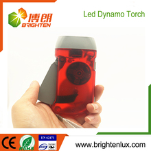 Factory Bulk Sale Color Customized Plastic led Small Pocket kids mini hand crank led flashlight