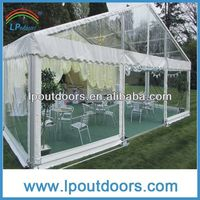 Promotional tarpaulin tent cover