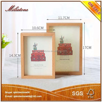 Wood Shadow Box Picture Frame Nature Color