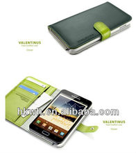 Top quality OEM Order wallet Leather Case For Samsung Galaxy S4 case