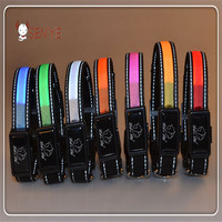2015 New arrival Wholesale dog leash lead/ Pet Collar Flashing LED Lighted Dog lead, Dog Harness/Pet Leashes