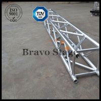 clear span stage truss with covering