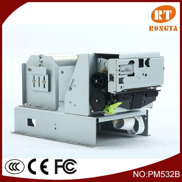 "3 "" thermal kiosk pos printer module with cutter, mechanisms, control board and bracket PM532B"