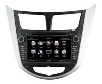 2016 car gps navigation system for hyundai accent audio radio bluetooth USB SD CD player TV