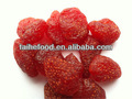 2017sweet taste and high quality of dried strawberry