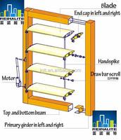 Customized Exterior Aluminum Louver/Shutters For Windows & Door