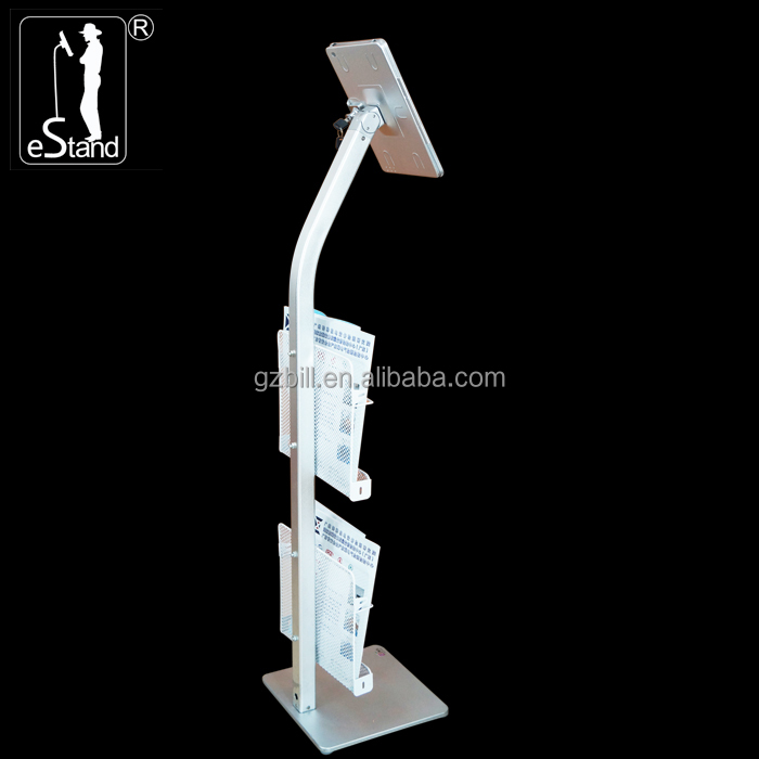 eStand BR22022F indoor <strong>retailing</strong> brochure promotion/business support for ipad tablet display racks