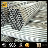 steel tube greenhouse structure gi round steel tube round galvanized pipe