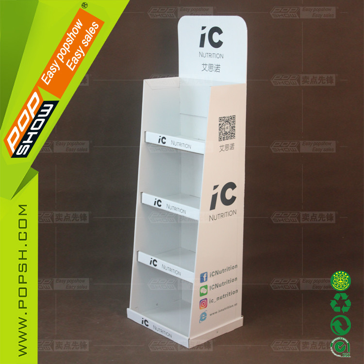 China cardboard folding screen for polyethylene container