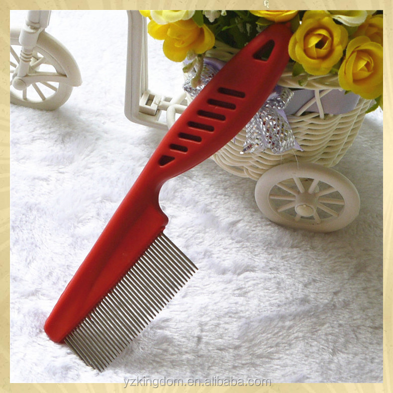 Widely Used factory sale lice flea dog comb for travel use