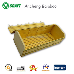 Square Disposable bamboo Food Container, bamboo gift boxes