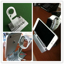 Wholesale for ipad iphone 6 stand charging stand holder multi-function, for apple watch wooden stand
