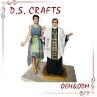 Custom Decorative Fiberglass Life Size Statues