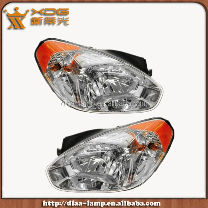Hot sale passenger side Accent 06-11 head lamp