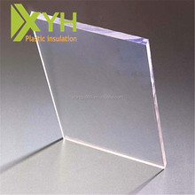 2017 Clear transparent solid PC sheet polycarbonate sheet price