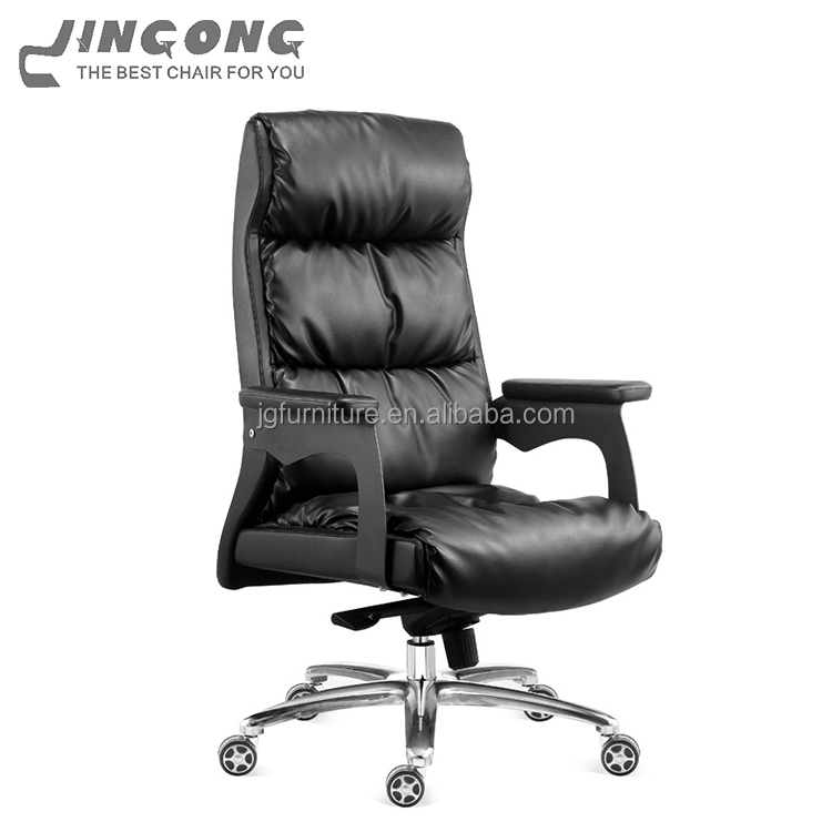 Office leather desk executive chair arm covers big boss chair
