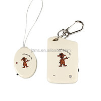 Wireless Remote Smart Object Locator/Key Finder/Luggage Locator with Keychain and LED Flashlight