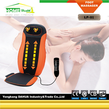Battery Operated Vibrating Motors Car And Home Back Massage Cushion With Infrared heating