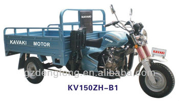 150cc%200cc Sky blue Cargo motorcycle KV150ZH-B1 Factory direct sales Three wheel motorcyle