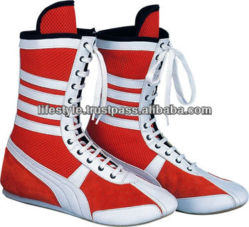 custom made boxing shoes genuine leather boxing shoes wrestling