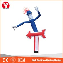 Top Quality Hot Selling Air Dancer Inflatable Man with Arrow