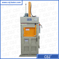 Vertical hydraulic waste recycling machine leftover printing paper baler