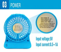 Fashion safety export outdoor tourism hand-held air condition mini fan