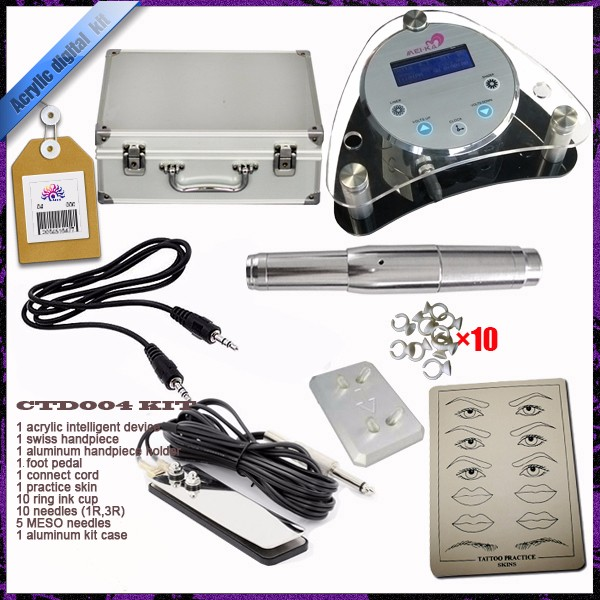 Complete makeup kit Eyebrow Tattoo Machine for Semi Permanent Makeup