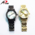 Top quality OEM men and women luxury watches 316L stainless steel watch