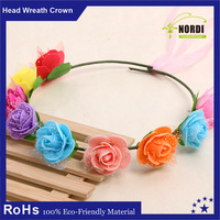 Fashion Boho Style Floral Flower hair crown hair accessories, flower crowns