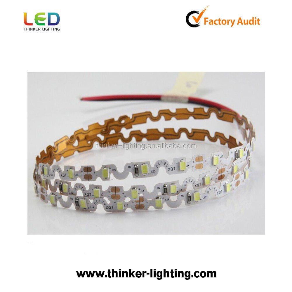 Thinker smd 2835 S shape type 12V LED flexible strip light for Channel Letters