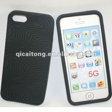 mobilephone skin silicon cover with sand dune for iphone 5g