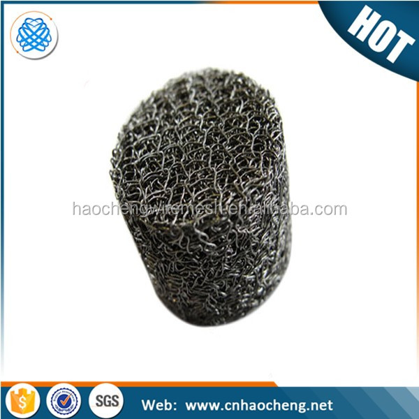 China golden supplier magnetic shielding materials compressed knitted wire mesh gasket