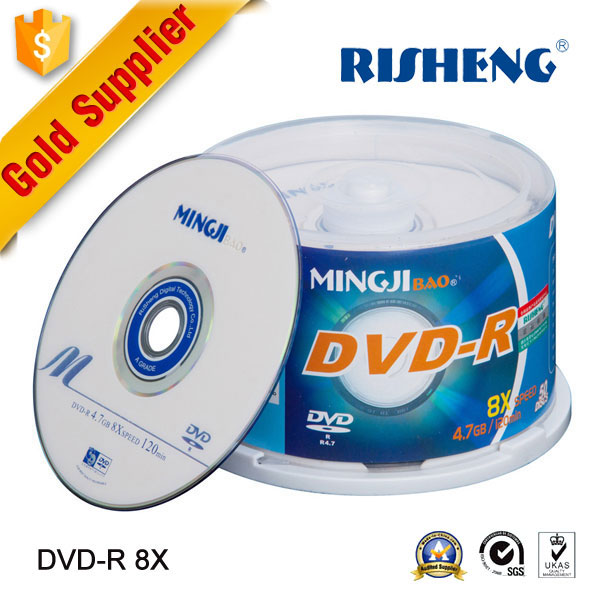 RISHENG 4.7GB blank dvd-r 16x/printable dvds/dvd empty disc wholesale