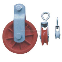 Plastic Nylon Rope Pulley