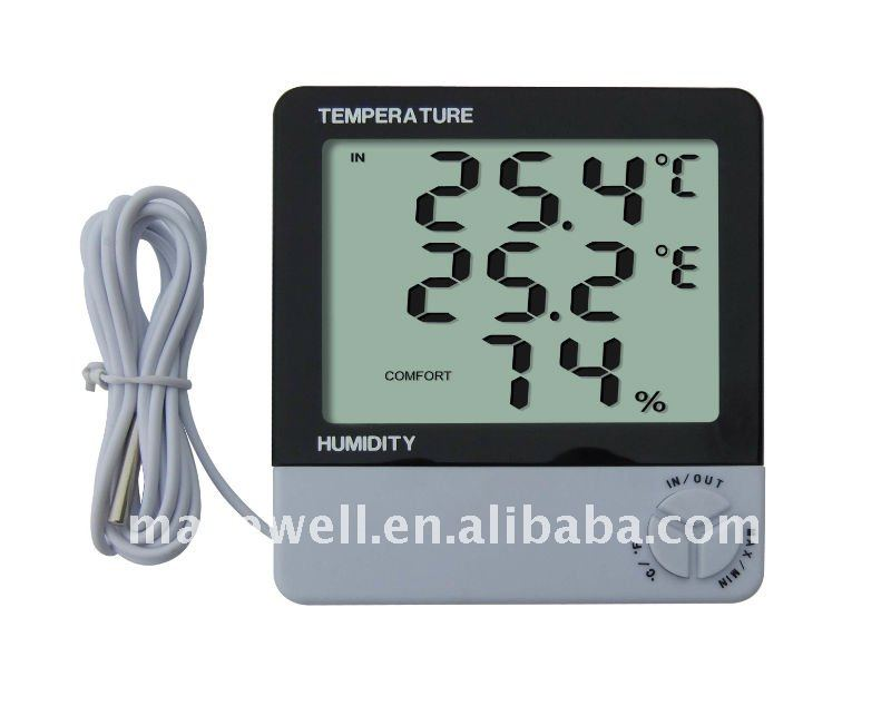 Digital In-Outdoor Thermometer&Hygrometer