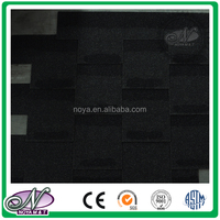 Cheap building materials coloured round shape shingle with high quality