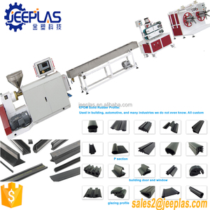 EPDM Rubber Profile Production Extrusion line / EPDM Sealing Strip Making Machine