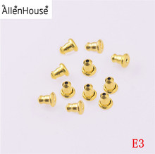 Wholesale factory direct stainless steel Bullet Clutch Earring Safety Backs for Hook Earring