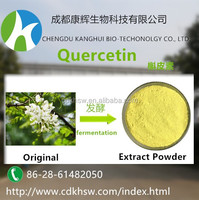 High quality 100% natural plant extract 98% quercetin 117-39-5