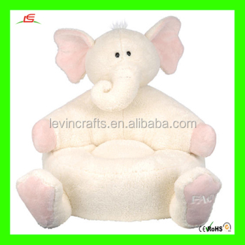 LE A027 elephant animal plush sofa chair